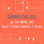 Up to 80% off floor samples and stock at BeyondBlue Interiors in North Hills