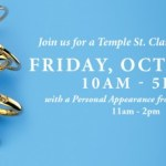 {You're Invited} Temple St. Clair Personal Appearance and Trunk Show at Bailey's on Friday