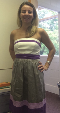 New consignment dress from Fifi's in Cameron Village
