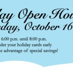 {You're Invited} Cute Buttons Gift and Paper Boutique's Holiday Open House