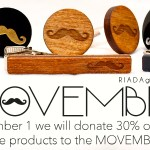 Riada by Adair supports the Movember movement