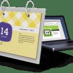 Creative Countdown flip calendar