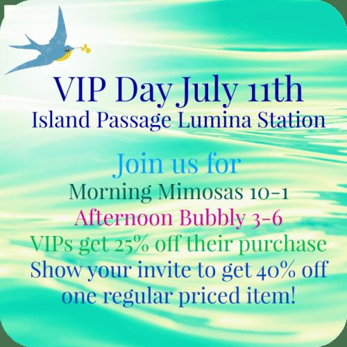 Summer 2015 VIP Sale at Island Passage - Lumina Station