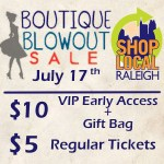 (You're Invited) Shop Local Raleigh's Boutique Blowout is Back!