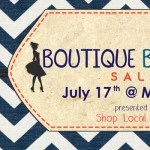 Reminder: Boutique Blowout is Tomorrow!
