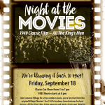 Enjoy a Night at the Movies at Cameron Village on Friday