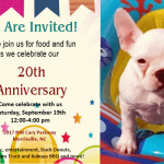 {You're Invited} Celebrate 20 Years with Ivy Cottage Collections on Saturday!
