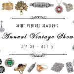 Joint Venture's Annual Vintage Jewelry Show Is Here!