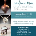 {Contest} Win Tickets to This Weekend's Carolina Artisan Craft Market!