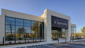 Raleigh Diamond jewelry showroom - new store on Glenwood Avenue
