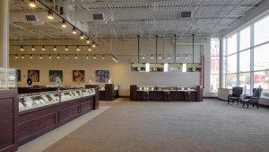 Raleigh Diamond jewelry showroom - interior