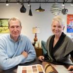 Trig Modern's Bob Drake and Ann Marie Baum