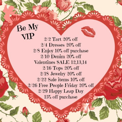 February VIP sales at Island Passage in Wilmington