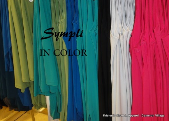 Sympli Trunk Show and Fashion Shows Coming to Kristen's in March