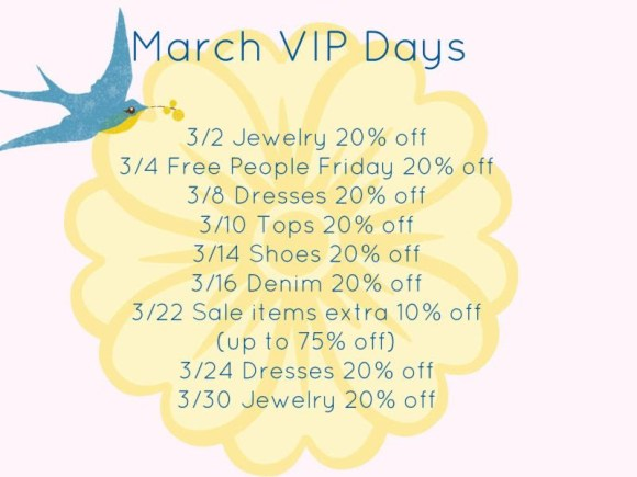 March VIP days at Island Passage in Wilmington