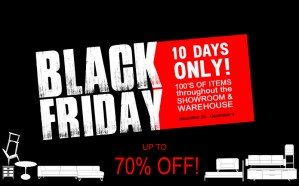 Black Friday - Ambiente Furniture