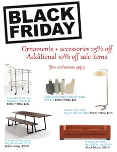 Black Friday - BeyondBlue Interiors