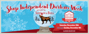 Sustain-a-Bull Small Business Saturday in Durham