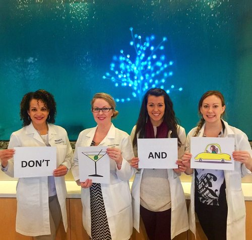 """Blue Water Spa's """"Pledge Not to Drink & Drive"""" Campaign"""