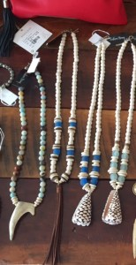 Southern Strung necklaces and accessories available at Jarrett Bay in North Hills