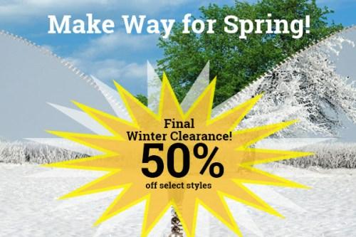 GOPC make way for spring sale