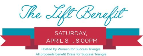 The Lift Benefit supporting Dress for Success