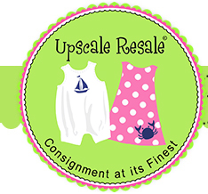 Upscale Resale children's consignment shopping event in Cary, NC