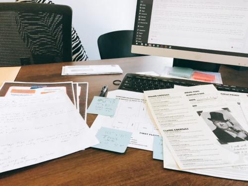 lisa's desk