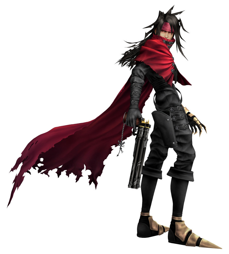 Vincent Valentine Play Arts Review Ihearttoys
