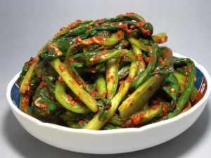 Green Water Kimchi