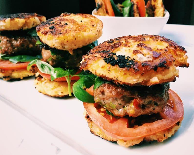 Paleo Mini Lamb Burgers