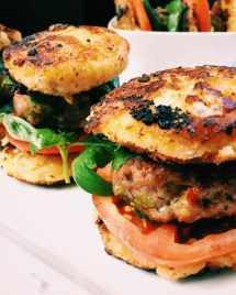 Paleo mini lamb burgers. Paleo burgers. Paleo sliders. lamb burgers.