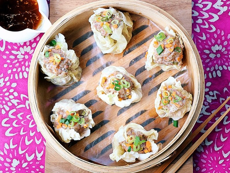 Paleo Dim Sum - Shumai. Paleo Shumai. Paleo Dim Sum. Paleo Dumplings. Paleo Chinese Dumplings. Paleo Asian Dumplings. Whole30 dim sum. Whole30 shumai. Paleo Asian food.l Paleo Chinese Food.