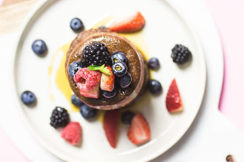 Tigernut Flour Chocolate Souffle Pancakes