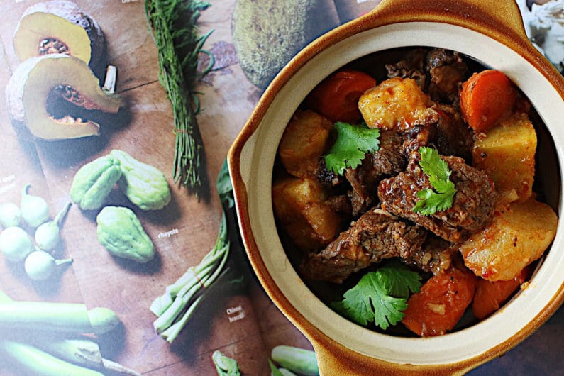 Vietnamese Hearty Beef Stew with Vegetables