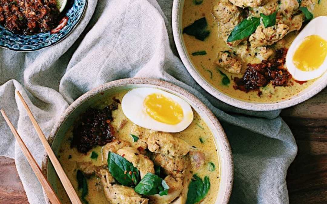 Spicy Chicken Laksa