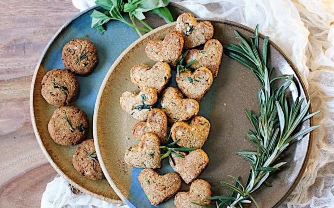 Sweet Basil and Rosemary Cookies (Paleo Holiday Recipe)