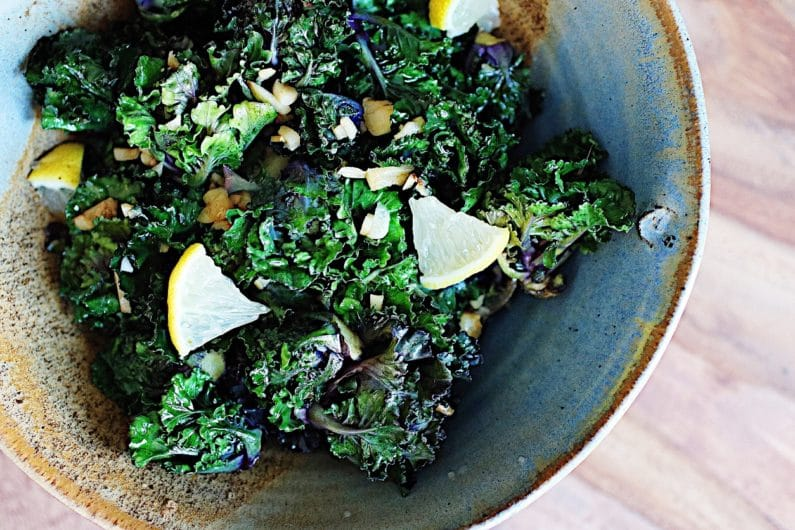 Kalettes – Brussels sprouts and Kale