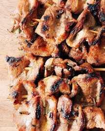Grilled Pork Skewers