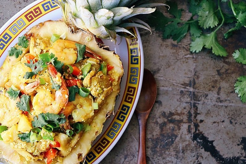 Pineapple Cauliflower Fried Rice