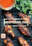 Paleo Crispy baked chicken wings. Paleo chicken wings. Whole30 chicken wings. Keto chicken wings. Paleo finger food. Paleo Chinese food. Paleo Asian food. Chinese New Year Recipe. IHeartUmami.com