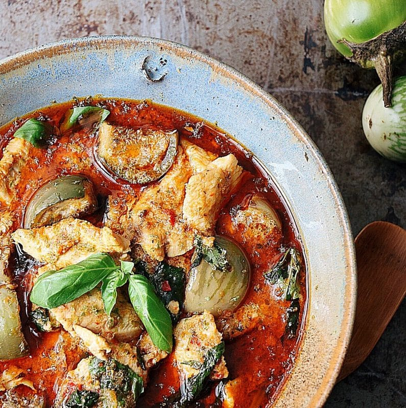 Paleo Semi Homemade Red Curry Chicken Iheartumami