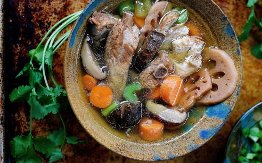 Paleo Chinese Chicken Sparerib Soup