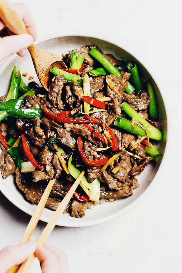 Image result for paleo mongolian beef by iheartumami