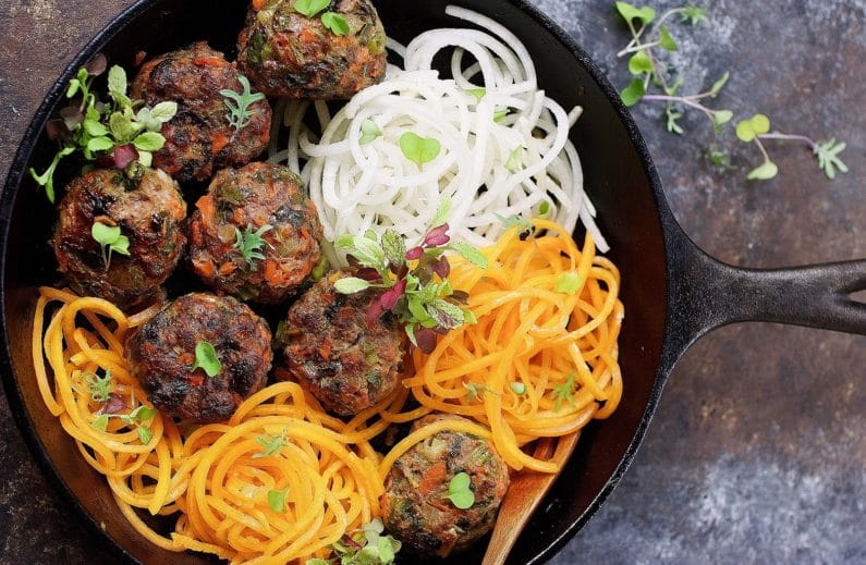 Paleo Asian Meatballs recipe