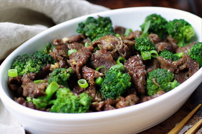 Delicious and healthy Paleo Beef with Broccoli for quick and easy everyday meal better than take out.