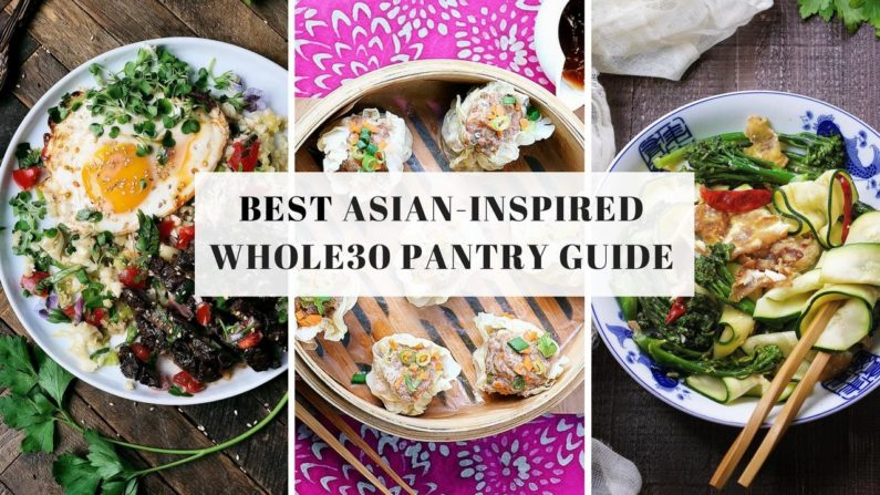 Whole30 Pantry Guide for Asian Food from I Heart Umami