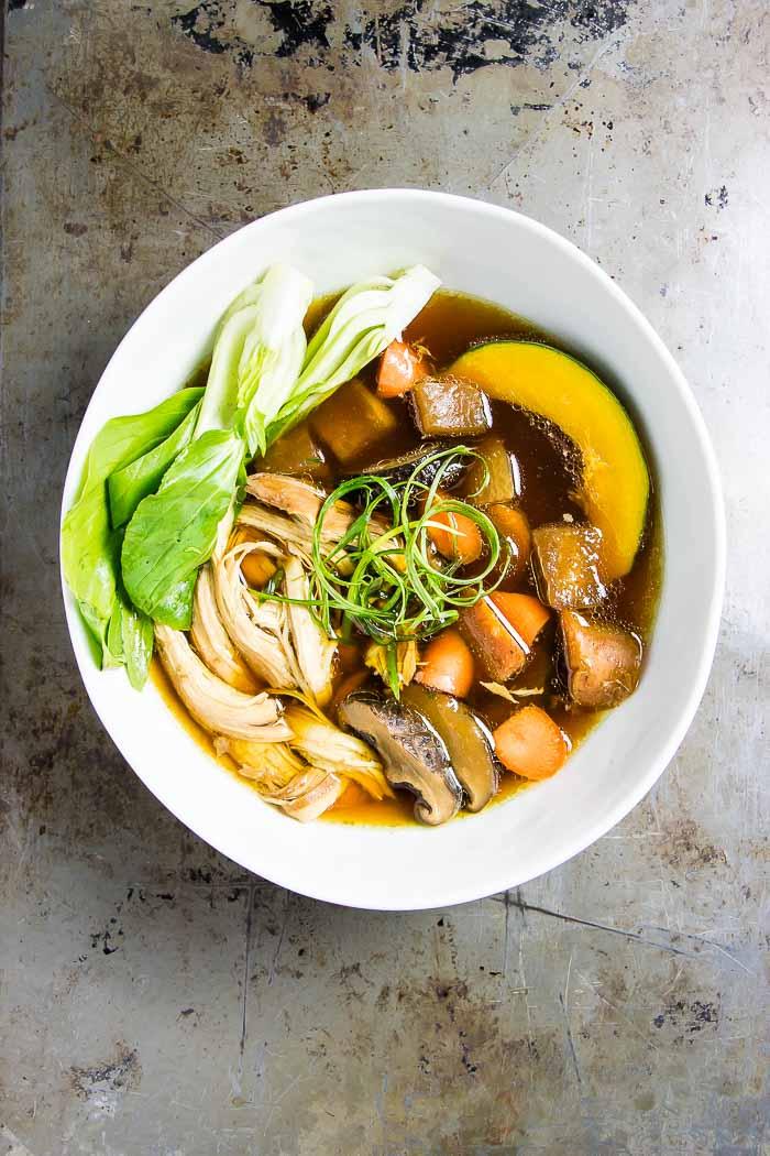 Instant Pot Chicken Bone Broth Recipe - Munchkin Time