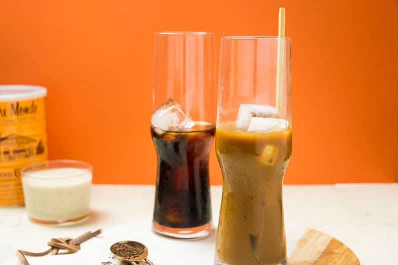 Coconut Milk Vietnamese Iced Coffee