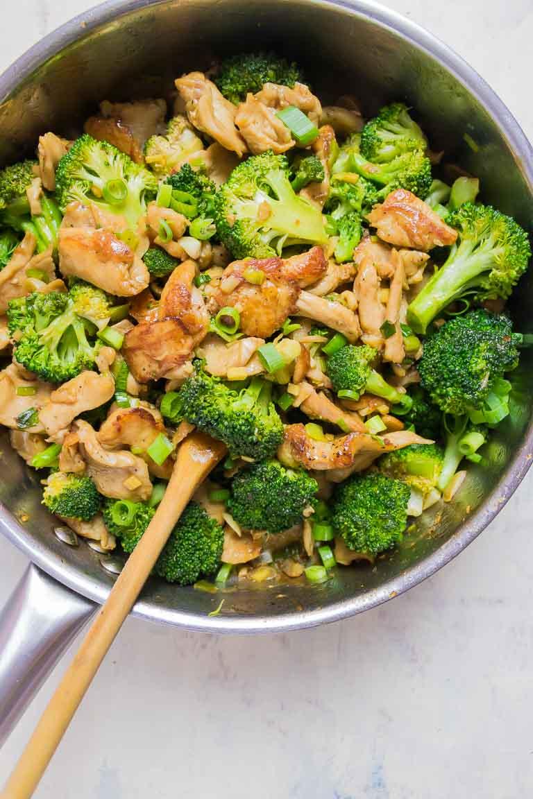 Paleo Chicken And Broccoli Stir Fry Whole30 Keto Low Carb I